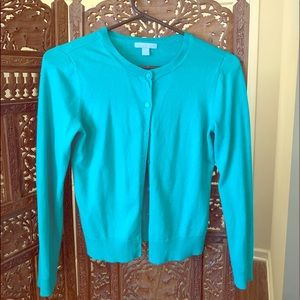 Green Cropped Cardigan NY&CO M